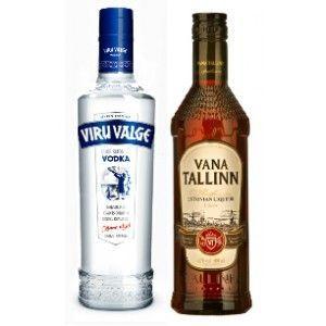Vana Tallinn 40% 500ml & Viru Valge 40% 500ml Combi
