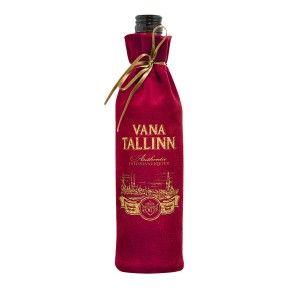 Vana Tallinn likeur 500ml 45% in Velvet zak
