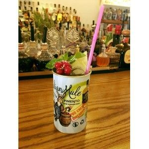 Italian Mule Cocktail Can